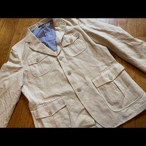 Faconnable Linen Blazer